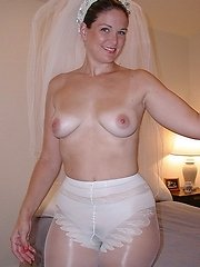 These are some hot milf brides. They just cant get enough if the cock.