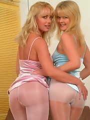 These lesbian pantymoms sure have a good time