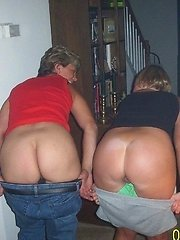 Sexy ass milf in some black stocking. Ladies send me those panties i would not mind eating them.