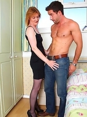 This mature lady loves to suck a cock