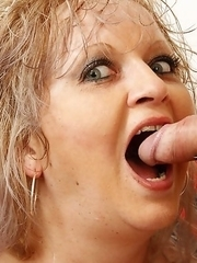 Mature slut fucking her toy boy